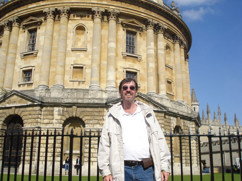 Peter at Radcliffe